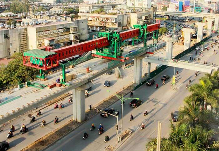 Dự án đường sắt Hà Nội - Đến nay Hà Nội vẫn chưa có tuyến đường sắt đô thị nào vận hành