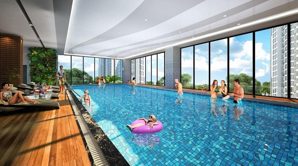 Bể Bơi chung cư The Terra An Hưng
