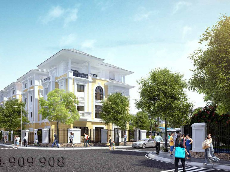 Liền kề Cityland Luxury Villas