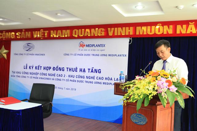 Trần Hoàng Dũng, Chủ tịch HĐQT kiêm Tổng Giám đốc Mediplantex chia sẻ