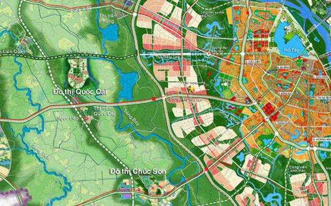 Tuyến đường nối đường 3,5 đến đường liên khu vực số 2 thuộc địa phận huyện Hoài Đức, Hà Nội. Dự án vừa được UBND TP Hà Nội phê duyệt chỉ giới đường đỏ.
