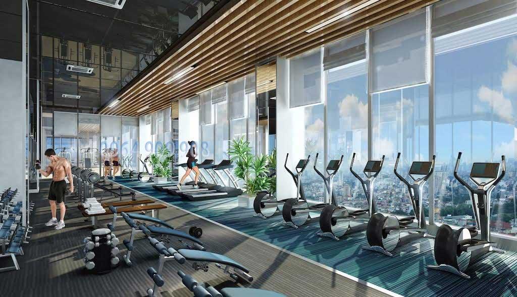 Phòng Gym - Yoga chung cư Terra Tố Hữu