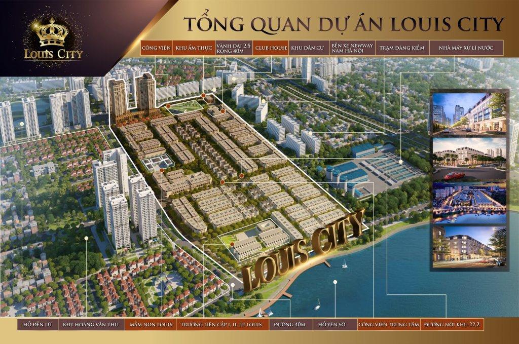 Shophouse Louis City Tân Mai